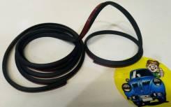 Резинка уплотнительная со скотчем черная длина 1,80м ширина 0.8см