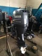 Yamaha. 50,00л.с., 4х тактный, бензин, нога L (508 мм), Год: 2001 год