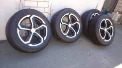 Продаю комплект колес на литых дисках на Ниссан икстрейл. x17