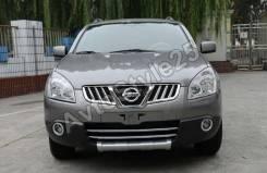 Накладка на бампер. Nissan Qashqai, J10, J10E Nissan Dualis, J10