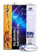 Subaru. Вязкость 5W-30, гидрокрекинговое
