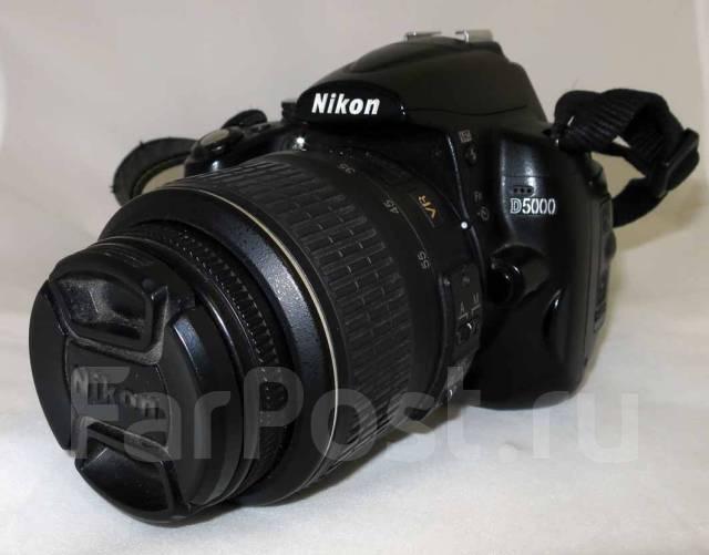 Nikon D5000 Kit. 20 и более Мп, зум: 5х