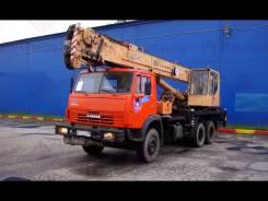 Юрмаш Юргинец КС-55722-2. Автокран Юргинец 25т. 2007г. в., 10 850 куб. см., 25 000 кг., 20 м.
