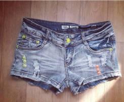 Шорты джинсовые. Рост: 152-158, 158-164 см