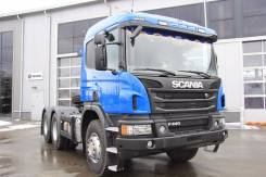 Scania. Продаётся тягач с колёсными редукторами, 13 000 куб. см., 33 500 кг.