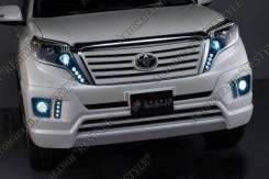 Решетка радиатора. Toyota Land Cruiser Prado, GRJ151, GRJ150, GRJ150L, TRJ150, KDJ150L, GRJ150W, GRJ151W, TRJ150W Двигатели: 1GRFE, 2TRFE, 1KDFTV. Под...