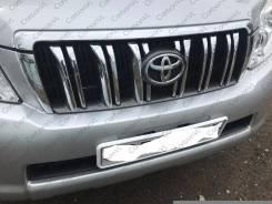 Молдинг решетки радиатора. Toyota Land Cruiser Prado, GRJ150W, GRJ151W, TRJ150W
