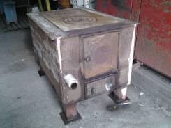 Продам металлическую печь для отопления частного дома