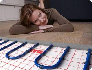 Проектирование, монтаж теплых полов.