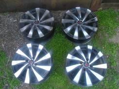 Red Wheel. 6.0x14, 4x100.00, ET35
