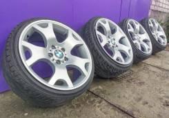 Оригинальные разноширокие диски BMW - 63 стиль R19 с резиной. 9.0/10.0x19 5x120.00 ET48/45 ЦО 72,6мм.