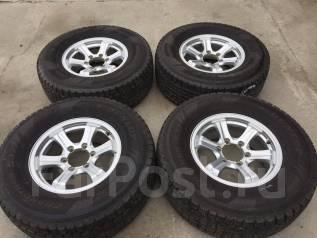 265/70 R16 Dunlop Grandtrek SJ7 литые диски 6х139.7 (L13-1608). 7.0x16 6x139.70 ET26