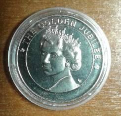 О-ва Теркс и Кайкос 5 крон 2002 The Golden Jubilee Elizabeth II