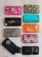 Чехол iPhone 4 / 4S, клепаные и с шипами