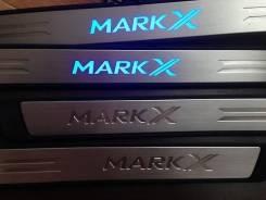 Порог пластиковый. Toyota Mark X, GRX120, GRX121, GRX125, GRX135, GRX130, GRX133