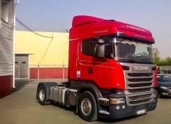 Scania. Тягач R400LA4x2HNA, 13 000 куб. см., 20 000 кг.
