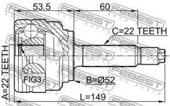 Шрус подвески. Chevrolet Aveo, T200, T250 Ford Escort, FA