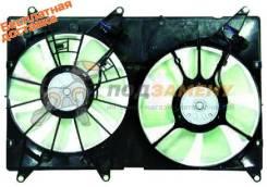 Диффузор радиатора двойной в сборе TOYOTA HARRIER/KLUGER 97-07 SAT / STLX452010