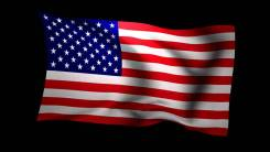 Флаг - США. новый