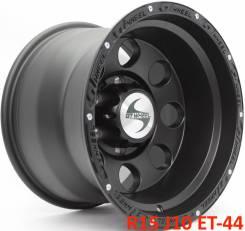 ASA Wheels. 10.0x15, 6x139.70, ET-44, ЦО 108,0мм.