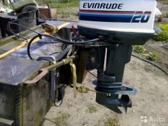 Evinrude. 19,00л.с., 2х тактный, бензин, нога S (381 мм), Год: 1997 год. Под заказ