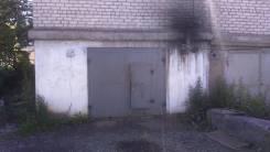 Гараж размер 8 метров на 5 метров на две машины. улица Красноармейская 15, р-н Пограничная, 40 кв.м., электричество, подвал.