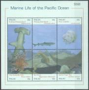 Палау 2000.05.10 Mi1737-1742 MNH морская фауна