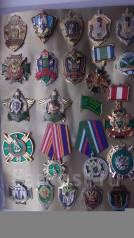 Пограничник. Коллекция знаков пограничной службы Дальнего Востока.