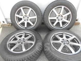 Колеса 225/60R17 Bridgestone Blizzak DM-V2. 7.0x17 5x100.00 ET48 ЦО 73,0мм.