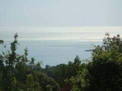 6 соток с панорамой моря. 600 кв.м., собственность, электричество, вода, от агентства недвижимости (посредник)