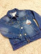 Куртки джинсовые. Рост: 98-104, 104-110 см