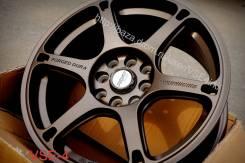 RAYS VOLK RACING. 7.0x16, 4x100.00, 4x114.30, ET30, ЦО 73,1мм.