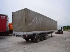 Van Hool. Полуприцеп с борт платформой 1989 г/в, 13 500 кг.