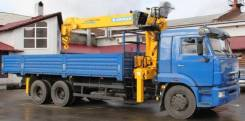 Камаз 65117. Продам КМУ Камаз-65117 19(L4) с КМУ Soosan SCS746L Top, 6 700 куб. см., 14 500 кг.