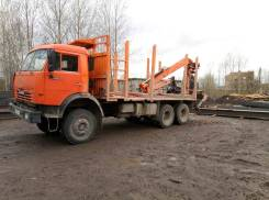 Камаз 53228. Сортиментовоз Камаз-53228-15 (ЕВРО-2),2007г. в, 11 700 куб. см., 16 000 кг.