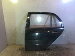 Дверь боковая Skoda Fabia 2000-2007, левая задняя