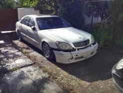 Запчасти Мерседес W220 S600 2001 год. Mercedes-Benz S-Class, W220 Двигатели: M, 137, E58