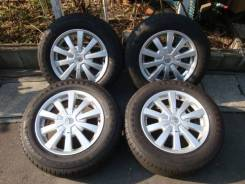 R16 диски Toyota + 205/65R16 протектор 95% (ЛЕТО) №M-KO19.5. 6.5x16 5x114.30 ET39