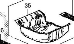 Ванна в багажник. Honda Fit Hybrid Honda Fit, GP6. Под заказ