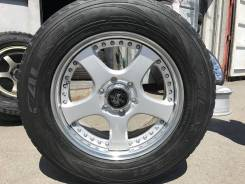 """Комплект стильных 18"""" колес Lodio Drive для Prado, Surf, Pajero и др. 7.5x18"""" 6x139.70 ET25"""