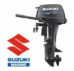 Suzuki. 15,00л.с., 2х тактный, бензин, нога S (381 мм)