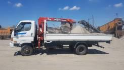 Hyundai. Продам Huyndai Emigne GOLD 4WD с крановой установкой, 3 907 куб. см., 4 000 кг.