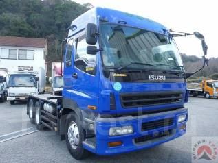 Isuzu Giga. тягач, мотор 30 литров, 600л. с., 20 тонн, 3х осный, 30 300куб. см., 20 000кг. Под заказ