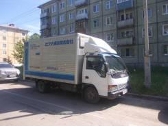 Isuzu Elf. Продам Isuzu ELF меб фургон широколобый дв-4.6л, гп-3т., 4 600 куб. см., 3 000 кг.