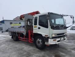 Isuzu Forward. Манипулятор Isuzu Forvard 7 тонн с UNIK 500, 7 127 куб. см., 7 000 кг., 10 м.