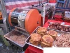 Машины для нарезки мяса, рыбы.
