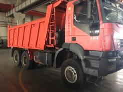 Iveco Trakker. Самосвал Iveco - AMT, 12 880 куб. см., 25 000 кг.