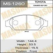 Колодки тормозные. Toyota: Crown Majesta, Crown, Mark II, Cresta, Chaser Двигатели: 1GFE, 1JZGTE, 2LTE, 4SFE