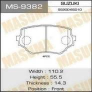 Колодка тормозная. Suzuki Escudo, TA52W, TL52W, TD02W, TD32W, TA02W, TD62W, TD52W, TX92W