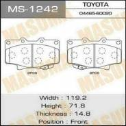 Колодки тормозные. Toyota Land Cruiser, FJ80, FJ80G, FZJ80, FZJ80G, FZJ80J, HDJ80, HDJ81, HDJ81V, HZJ80, HZJ81, HZJ81V Lexus LX450, FZJ80 Двигатели: 1...